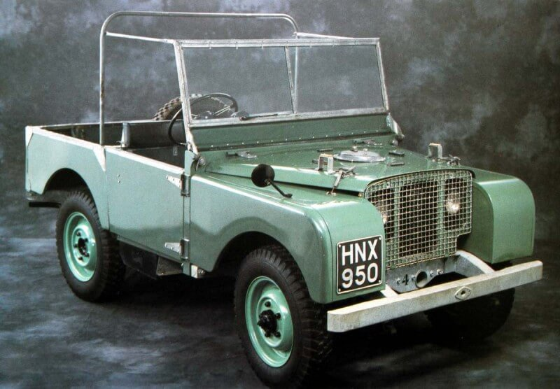 Land Rover Series 1 1948 года