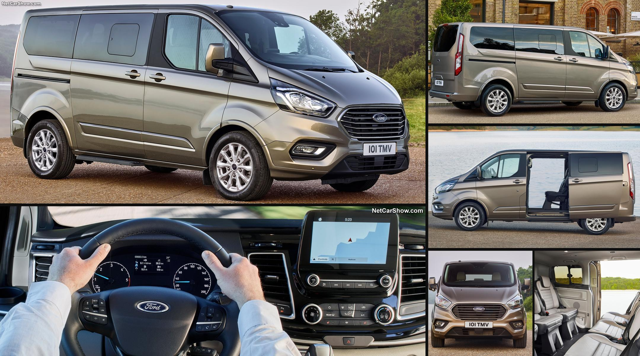 ford transit custom комплектации