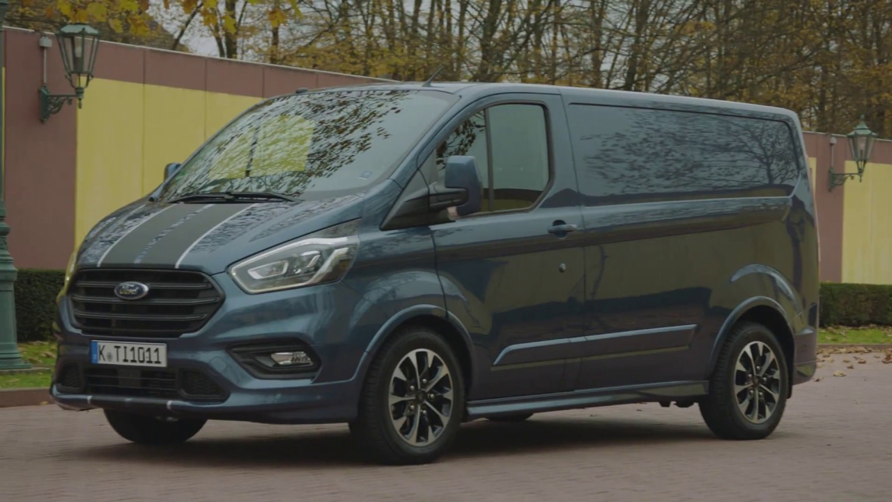 ford transit custom новый