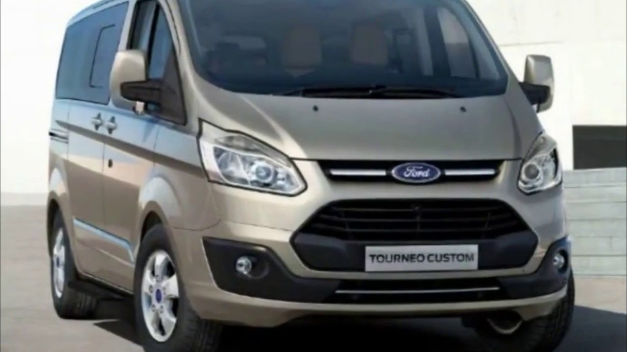 ford transit custom спереди