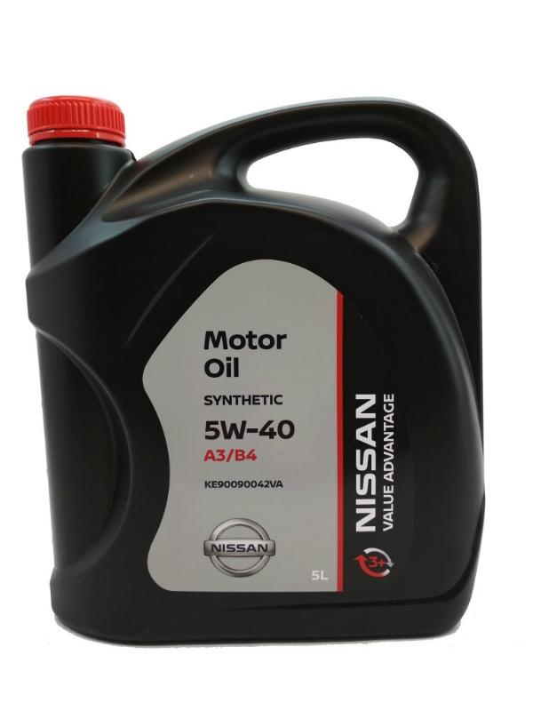 Масло Nissan 5W-40