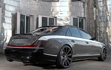 Maybach 57S Knight Luxury