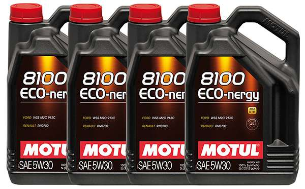 Motul 8100 eco nergy 5w 30 в канистрах